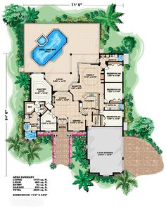House Plan 60708 at FamilyHomePlans.com