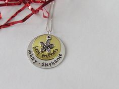 Best Friends/ Sisters Necklace, Personalized Jewelry