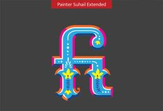 Handpainted Type by Sarang Kulkarni, via Behance