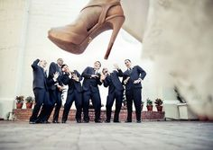 I am not usually into wedding stuff, but I really want a photographer who would let me do this