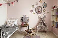 wall colors, chambr denfant, little girls, kidroom, kid bedroom, vintage romance, hous, kid room, girl rooms