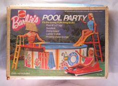 1973 vintage barbie pool