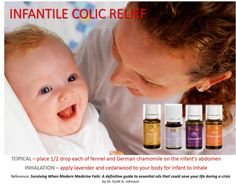 Several moms have found great success using these oils for their colicky baby www.youngliving.org/crazyadventures