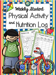 Weekly Student Physical Activity and Nutrition Log for health or P.E. classes:)