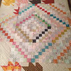! large block quilt, squar, color shade, larg stripe, beauti quilt, challeng, lowvolum, print