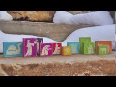 ▶ Nativity Blocks Vinyl Lettering - YouTube #uppercaseliving #ULvinyl #vinyllettering #livealifeinspired #christmas