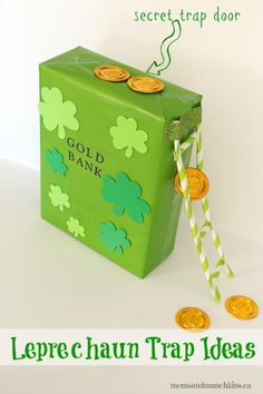 Leprechaun Trap Ideas #StPatricksDay
