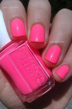 Essie; Punchy Pink: i need this!