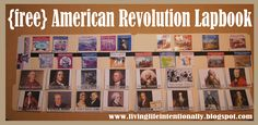 American Revolution Lapbook , Also use Liberty Kids Video series as a resource