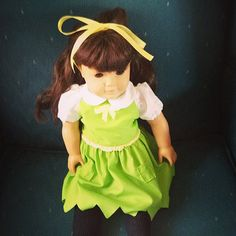 18 Tinkerbell Doll Dress by MomBabyMe on Etsy, $20.00
