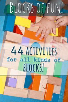 Blocks of Fun! 44 Block Activities for Preschoolers