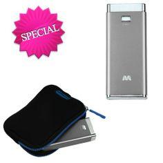 MYBAT Silver Li-ion Power Bank (5600 mAh) for APPLE The new iPad APPLE iPhone 4S/4 APPLE iPad 2 APPLE iPod touch (4th generation) APPLE iPad APPLE iPod nano (6th generation) APPLE iPod shuffle (4th generation) APPLE iPod touch (3rd generation) SAMSUNG M370 SAMSUNG R920 (GALAXY ATTAIN 4G) SAMSUNG I717 (Galaxy Note) SAMSUNG U380 (Brightside) SAMSUNG I847 (Rugby Smart) SAMSUNG T769 (Galaxy S Blaze 4G) SAMSUNG R930 (Galaxy S Aviator) SAMSUNG i757 (Galaxy S II Skyrocket HD) SAMSUNG U365 (Gusto 2) SA…