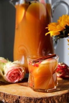 Apple Cider Vodka Punch - PaleOMG.com