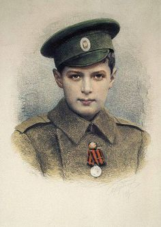 The last Romanov prince Alexie inherited haemophilia from his great-grandmother Queen Victoria, an affliction which contributed to the end of Imperial Russia.