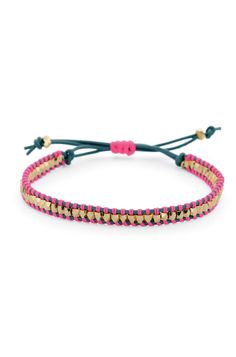 Stella & Dot Pink Wanderlust Single Wrap #BCA