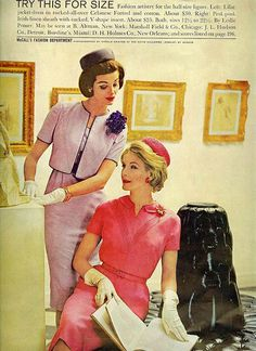 Jackie's classic style but with a much needed dose of colour. #sixties #vintage #1960s #fashion #clothing #style #colour #pink #purple