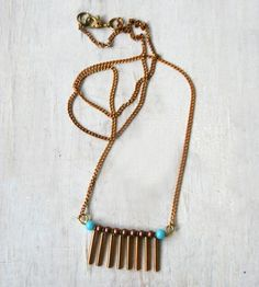 Comb Necklace by Chain Chain Chained on Scoutmob Shoppe