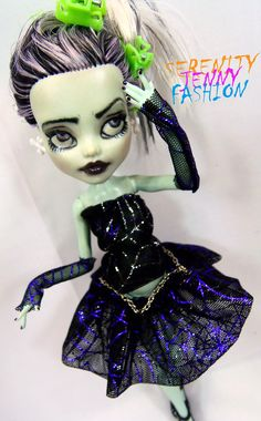 MONSTER HIGH DOLL CUSTOM OOAK CLOTHES OUTFIT | eBay
