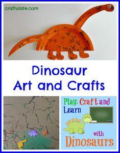 Dinosaur Art and Crafts - Craftulate