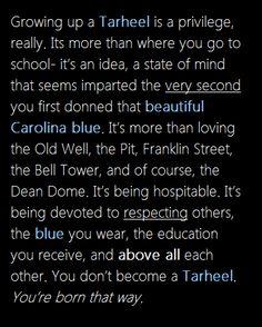 It's a great day to be a Tar Heel