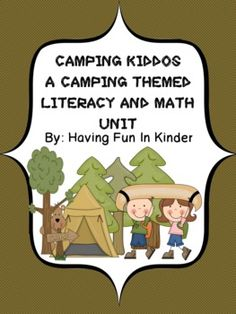 This 253 page CAMPING themed unit will have the little ones in your classroom busy practicing important literacy and math skills.  All of the activ...