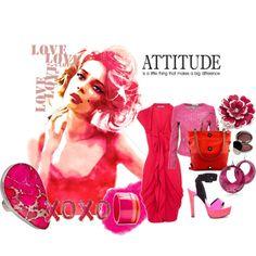 Attitude., created by jaredsgirl27 on Polyvore