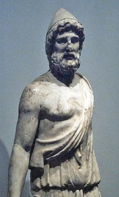 Hephaestus-The god of technology, blacksmiths, craftsmen, artisans, sculptors, metals and metallurgy and fire. He was the son of Zeus and Hera and his brother was Ares.