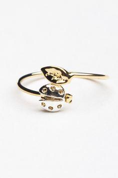Lady Bug Ring Brandy Melville USA- $4.00