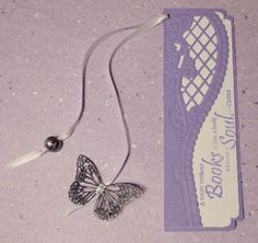 Butterfly Bookmark (tip: make out of fused fabric to make more durable)