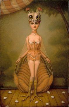 Bird Girl, Colette Calascione