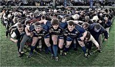 Scotland Rugby. Scrum together.