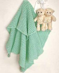 Bernat: Pattern Detail - Baby Sport - Crochet Baby Blanket