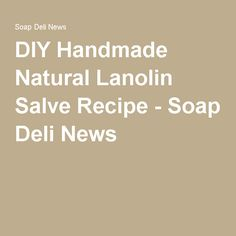 DIY Handmade Natural