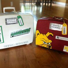 Graduation card boxes