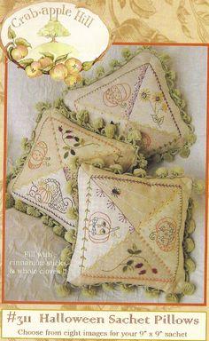 Primitive Folk Art Embroidery Pattern by PrimFolkArtShop on Etsy, $4.00
