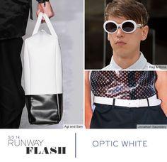 Trend spring / summer 2014 - White accessories