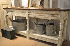 Handmade from reclaimed wood available Sept 19-21, 2014 at www.chartreuseandco.com/tagsale, #reclaimedwood, #salvagedwood, #handmadefurniture