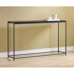 10-inch deep console table