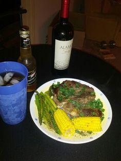 Steak Dinner al a Chef Phen