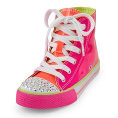 neon hi-top sneaker / the children's place
