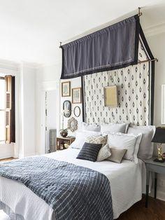 DIY Canopy Bed by Megan Pflug of One Kings Lane for Design*Sponge | Photos by Lelsley Unruh