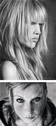 Realistic Pencil Art by Allan Hotzel