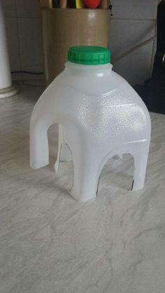 Milk bottle Elephant
