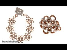 How to Make a Japanese 12-in-2 Chain Maille Bracelet and Ring - YouTube