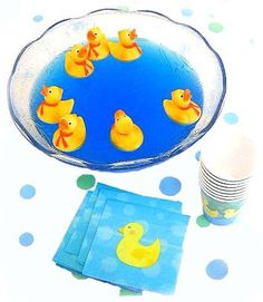 Blue jello or punch - duck birthday party