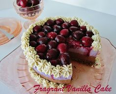 Raw Black Forest Cheesecake @FragrantVanillaCake