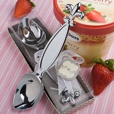 fleurty girl fleur de lis ice cream scoop