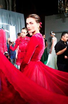 Georges Hobeika Haute Couture Fall-Winter 2012.