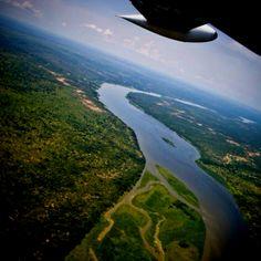 The Nile River, Uganda, Africa