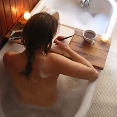 For writing in the bathtub.